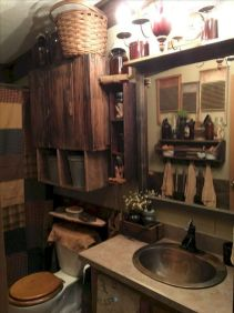 Amazing country bathrooms ideas you can imitate 43