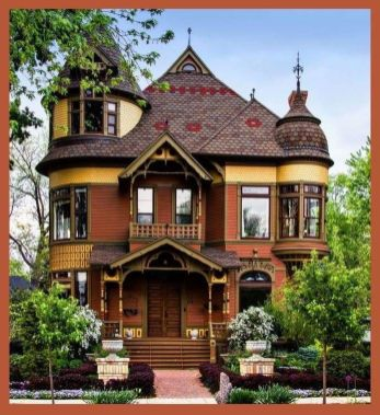 Amazing old houses design ideas will look elegant 24