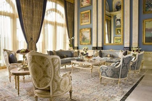 Attractive traditional living room designs ideas in italian 01