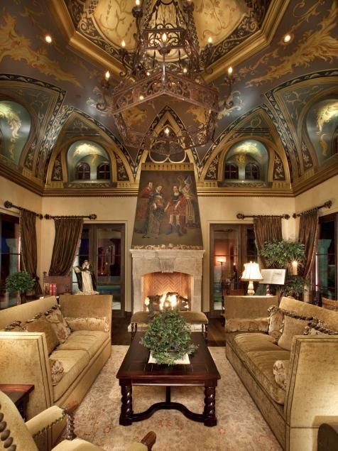 Attractive traditional living room designs ideas in italian 15