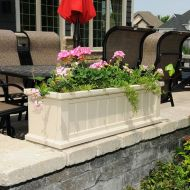 Attractive window box planter ideas to beautify up your home 46