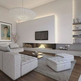 Awesome contemporary living room decor ideas 26