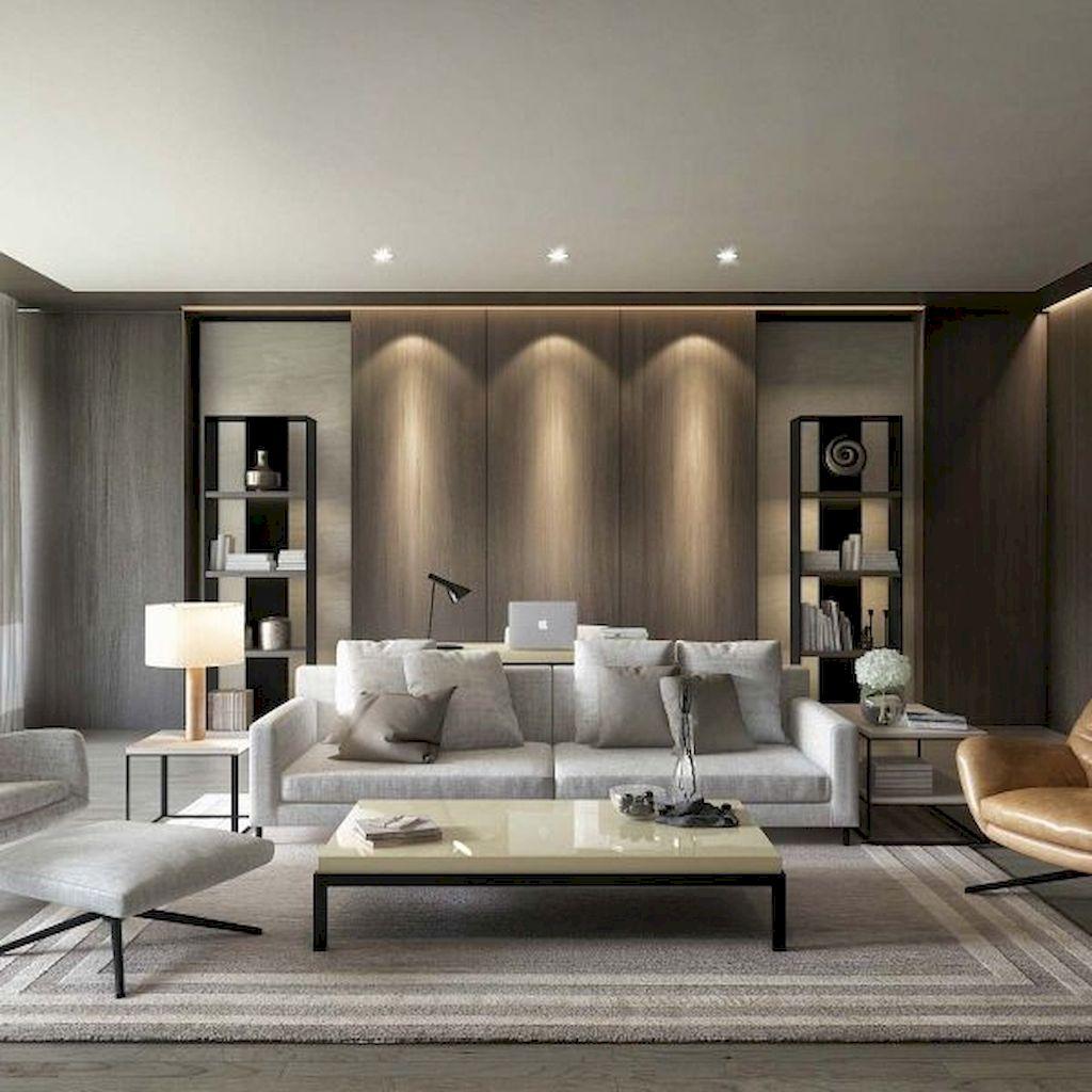 Awesome contemporary living room decor ideas 40