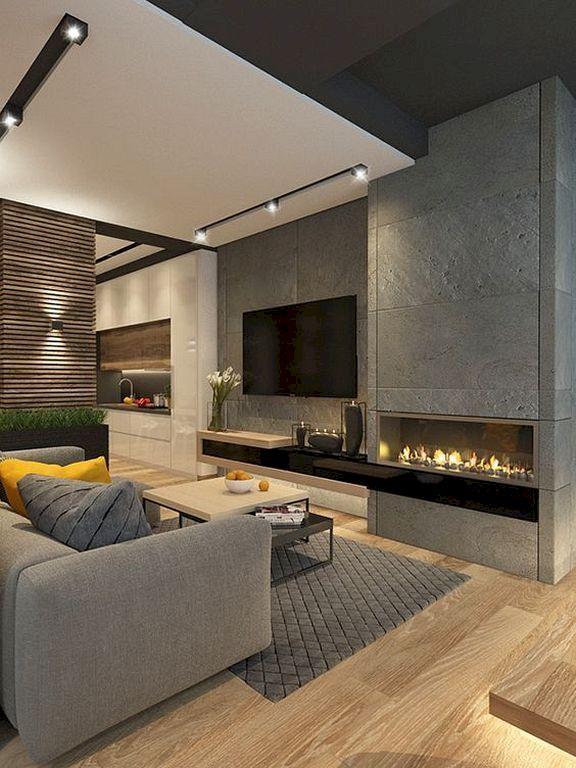 Awesome contemporary living room decor ideas 46