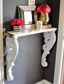 Best ideas for decorating room to be more interesting with corbels 10