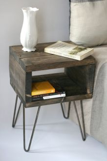 Brilliant furniture design ideas with wood pallets 41