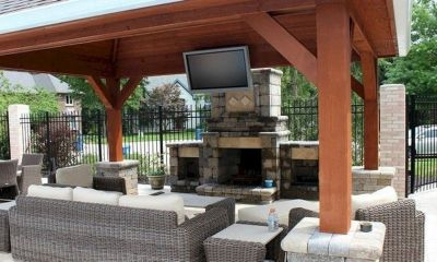 Charming living room design ideas for outdoor 06