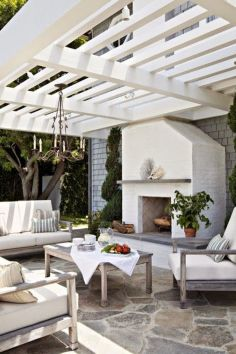 Charming living room design ideas for outdoor 08
