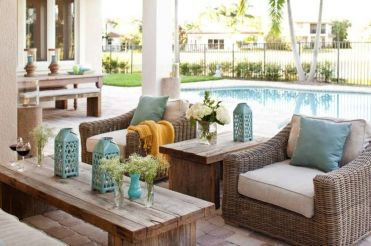 Charming living room design ideas for outdoor 16