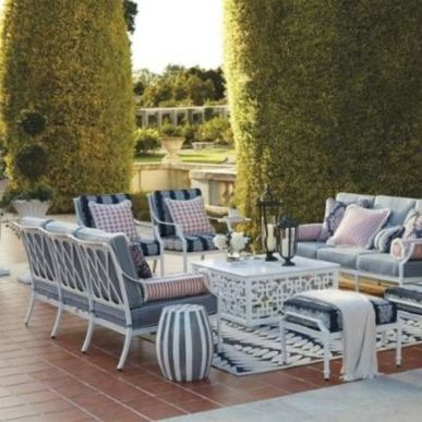 Charming living room design ideas for outdoor 26
