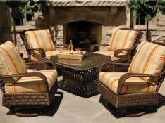 Charming living room design ideas for outdoor 40
