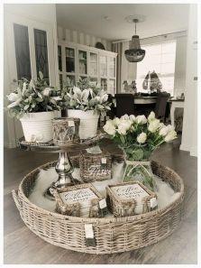 Elegant kitchen desk organizer ideas to look neat 04