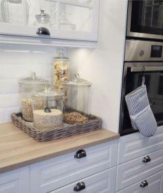 Elegant kitchen desk organizer ideas to look neat 26