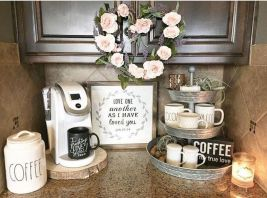 Elegant kitchen desk organizer ideas to look neat 52