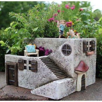 Impressive mini garden mug ideas to add beauty on your home 30