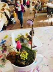 Impressive mini garden mug ideas to add beauty on your home 41