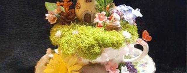 Impressive mini garden mug ideas to add beauty on your home 45