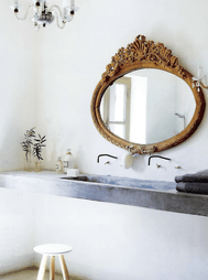 Magnificient bathroom sink ideas for your bathroom 06