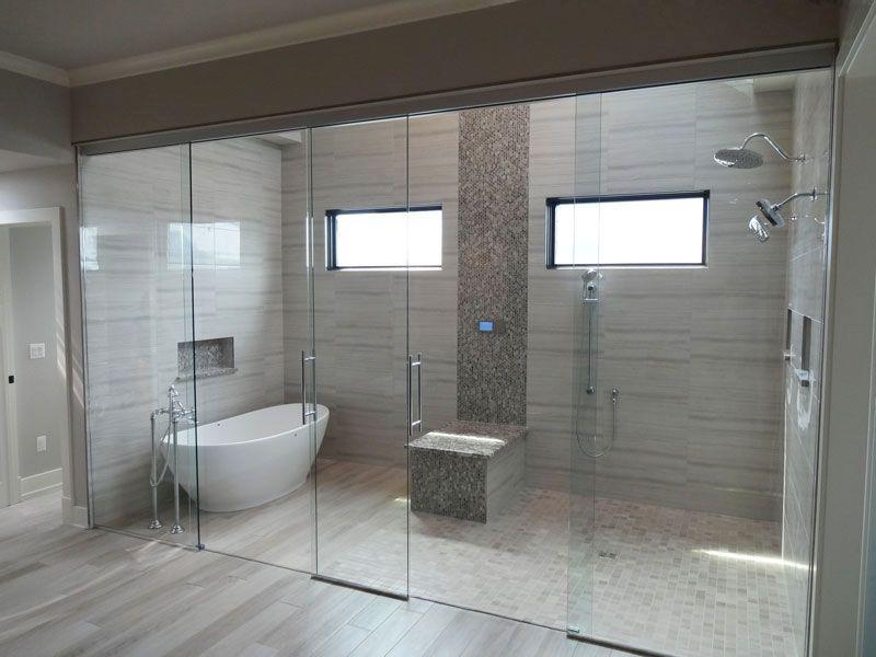 Stunning wet room design ideas 10