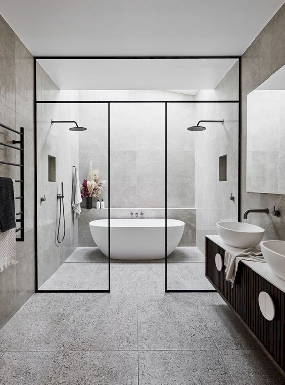 Stunning wet room design ideas 31