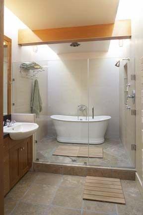 Stunning wet room design ideas 38