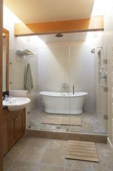 Stunning wet room design ideas 38