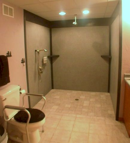 Stunning wet room design ideas 50