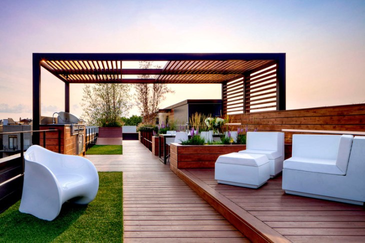Amazing Rooftop Design With Urban View That Will Make Us Swoon 2