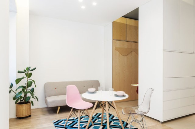 An Impressive Micro-ApartmentWith Transforming Wall That Truly Sophisticated 5