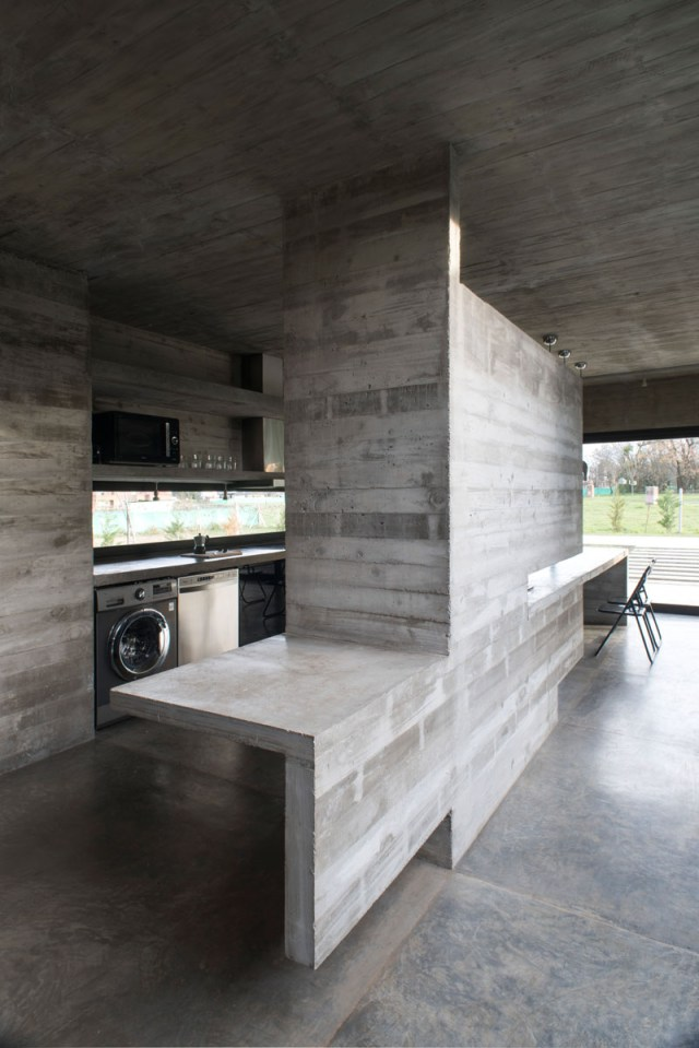 Concrete House Design To Achieve Industrial Appeal But Modern 5