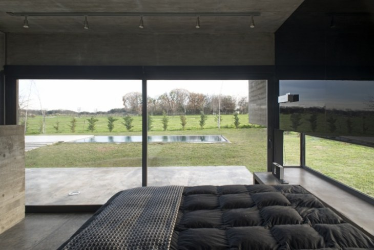 Concrete House Design To Achieve Industrial Appeal But Modern 7