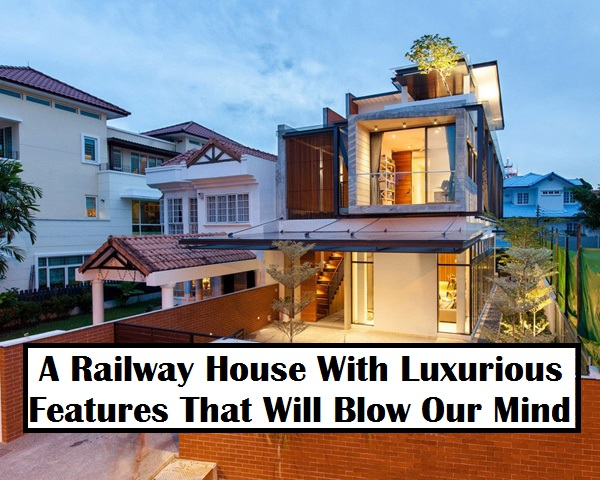 A railway house with luxurious features that will blow our mind