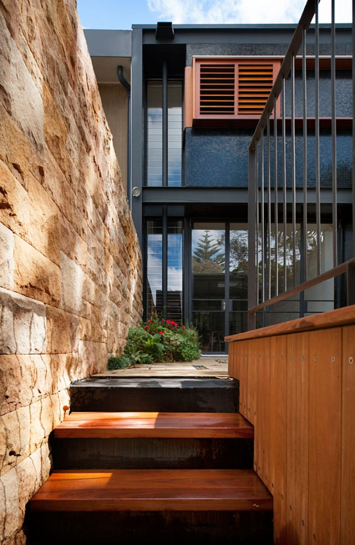 A-stunning-terrace-house-with-bold-black-and-wood-exterior-2