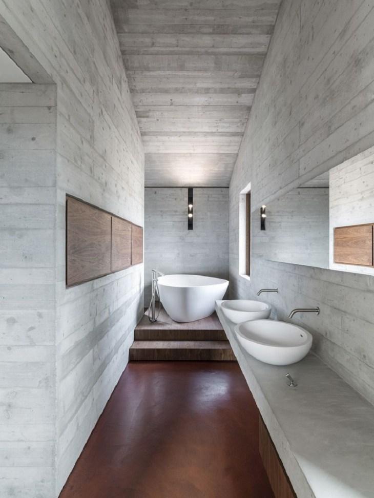 Sleek-bathroom-with-concrete