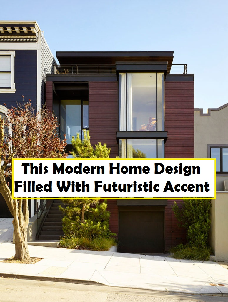 This Modern Home Design Filled With Futuristic Accent
