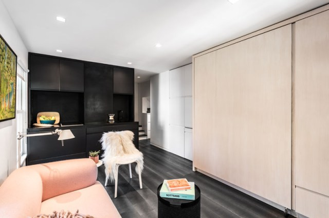 A Sophisticated Tiny Apartment With Transforming Elements 1