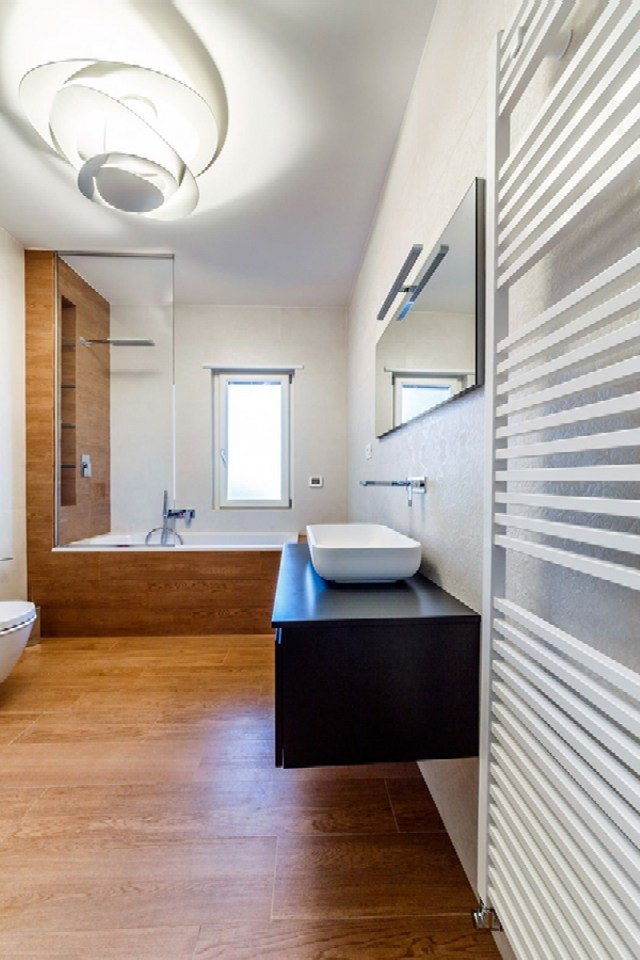 Modern Apartment Design With Monolithic Partition 8