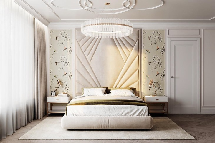 4 Beautiful Transitional Bedrooms Which Bridge Modern And Traditional Style Together