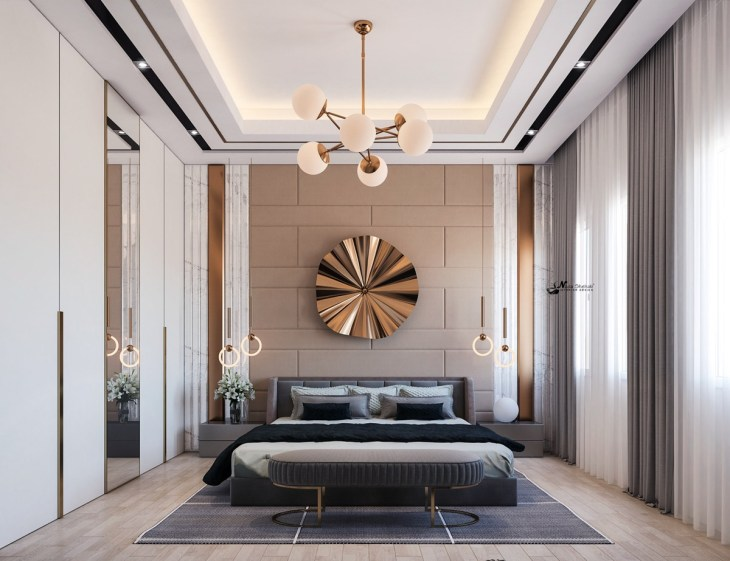 5 Beautiful Transitional Bedrooms Which Bridge Modern And Traditional Style Together