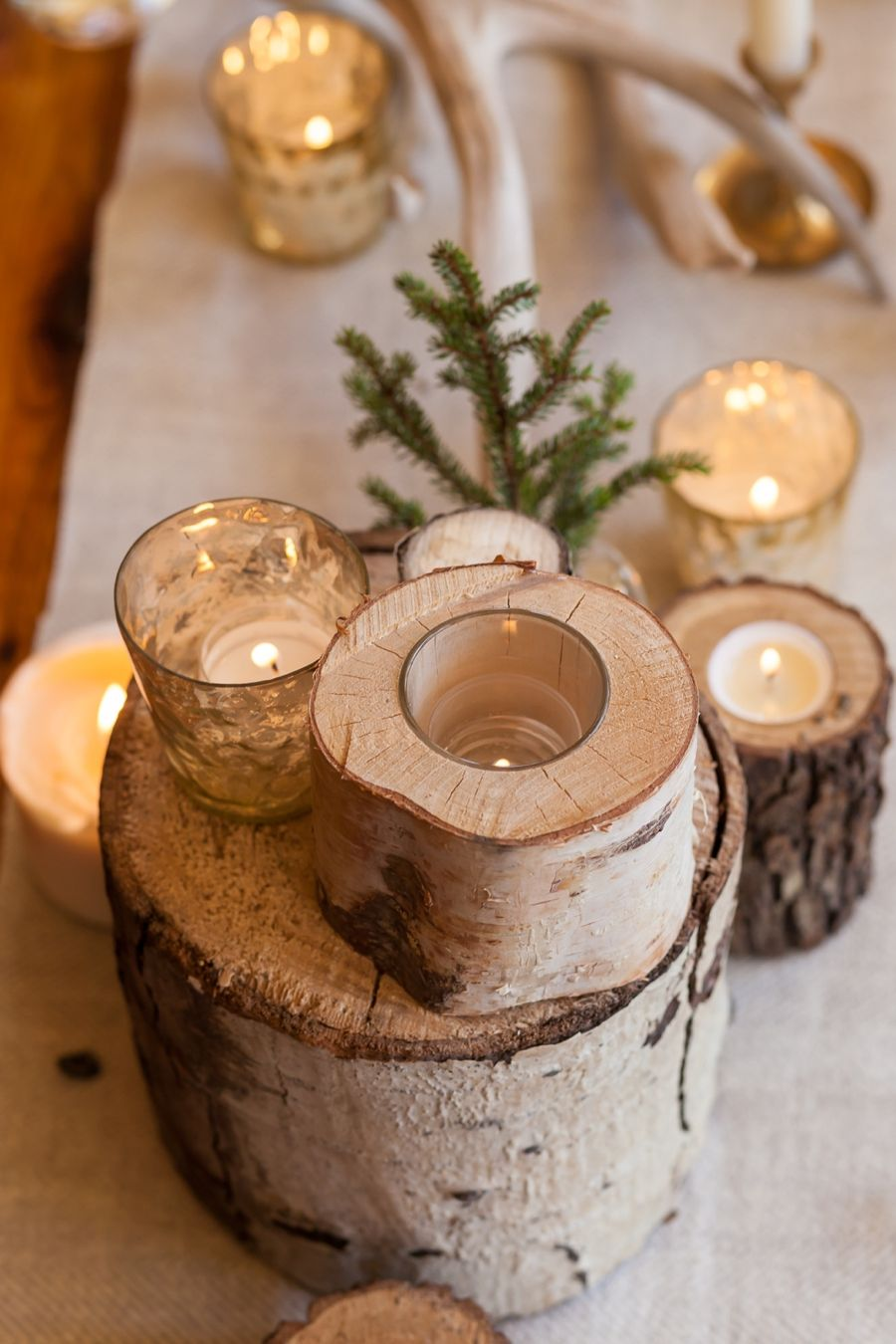 Perfectly Impressive Winter Rustic Centerpieces Where Your Guest Can Not Deny