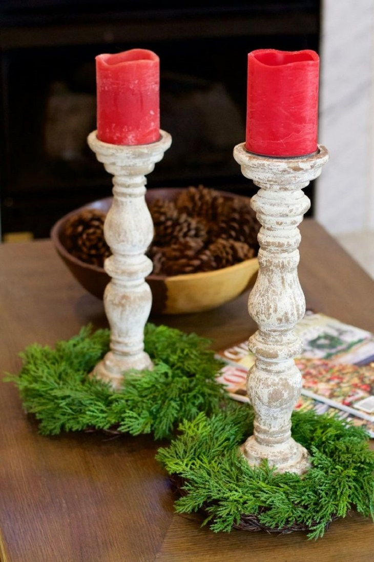 Pillar-candle-holder