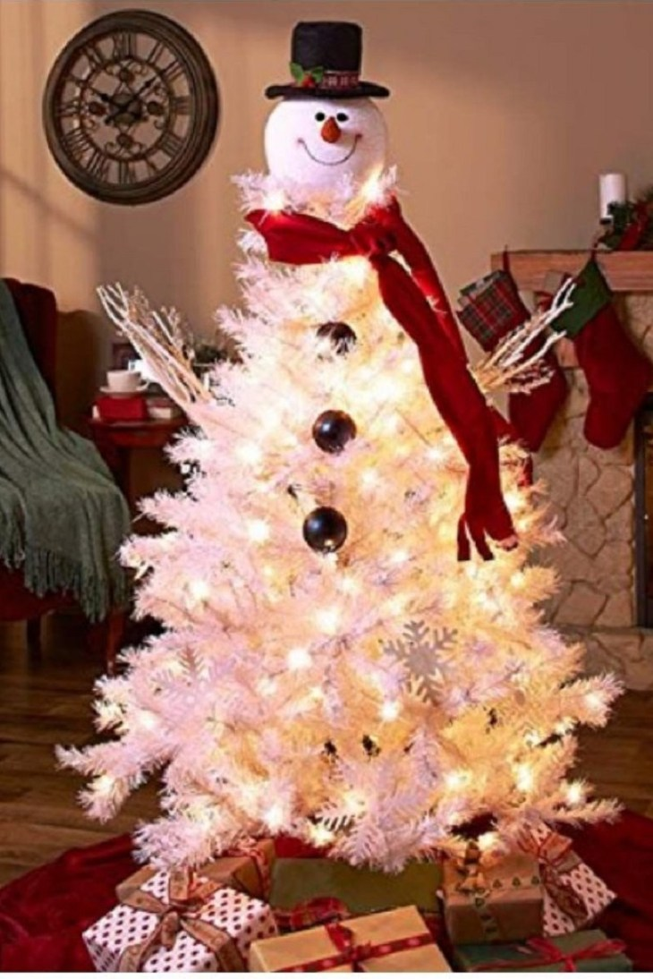 Snowman-top-hat-tree-topper