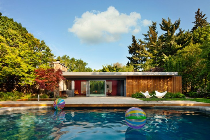 Mid-century pool house design that will make you feel surely envious 1
