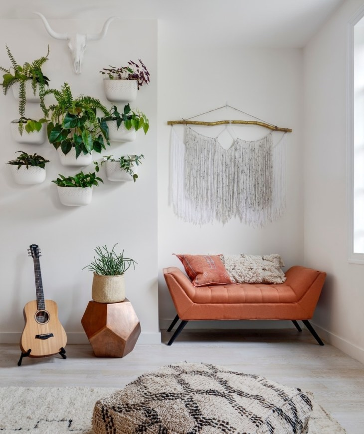 Modern Apartment With Plants Every Where That Comfortable For A Young Couple 2