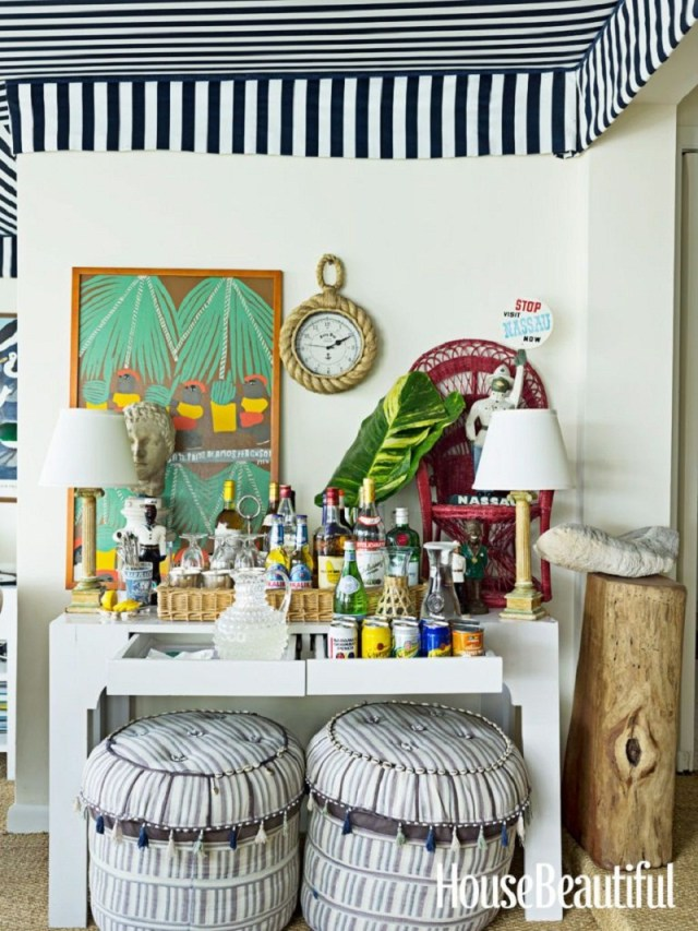 Amp up the bar Refreshing Summer Decoration Ideas To Give You Most Entertaining Space