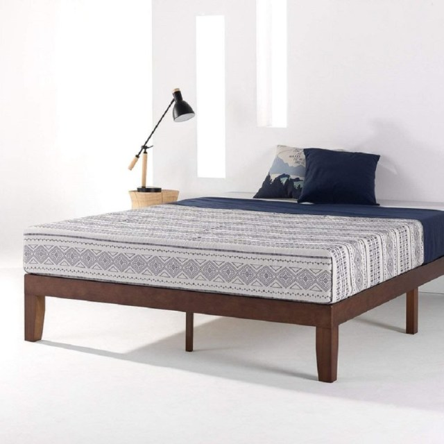 Classic solid wood platform bed frame Hypnotize Bed Frames Where You Can Rest Easily With Style
