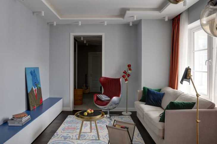 Tremendous apartment for a young couple with hard-working days and groovy nights 1
