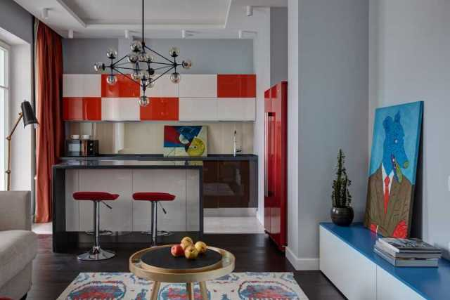 Tremendous apartment for a young couple with hard-working days and groovy nights 3