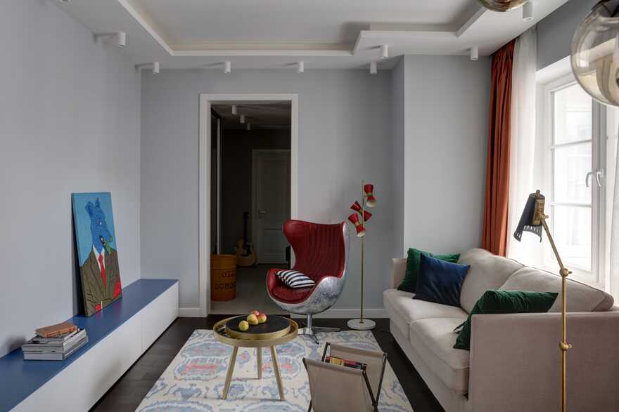 Tremendous Apartment For A Young Couple With Hard-Working Days And Groovy Nights