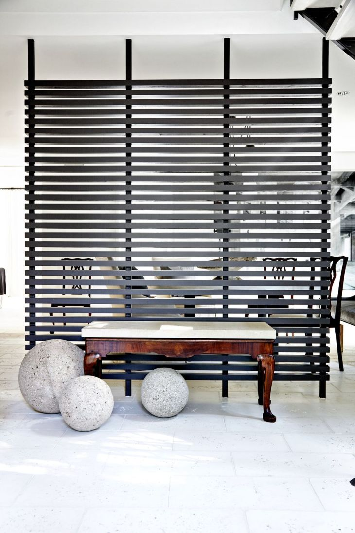 Wooden slats Genius Grand Room Dividers Ideas To Get The Most Out Of Any Space